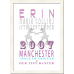 Loves and likes personalised print