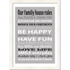 House Rules - Unpersonalised